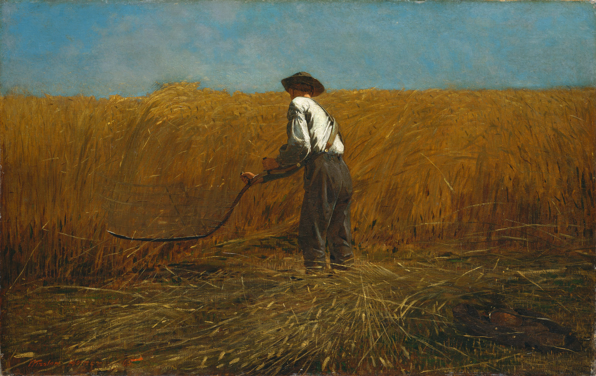Winslow Homer - The Veteran In A New Field (1865)