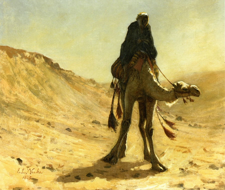Edwin Lord Weeks - The Camel Rider (1875)