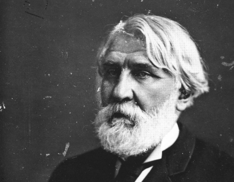 Ivan Turgenev (1818–1883), author of Fathers And Sons